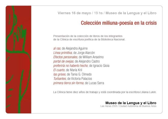 Nueva presentación de la colección Miliuna