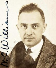 William Carlos Williams, 1921. Fuente: Wikimedia Commons